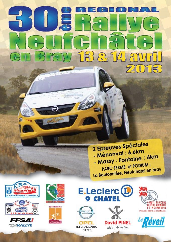 30ème édition du Rallye de Neufchâtel