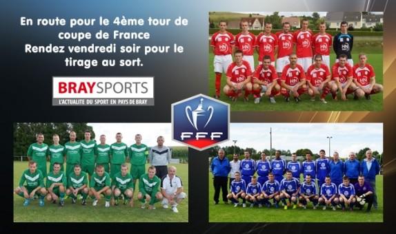 Tirage 4 me tour coupe de france braysports - Tirage coupe de france de football ...