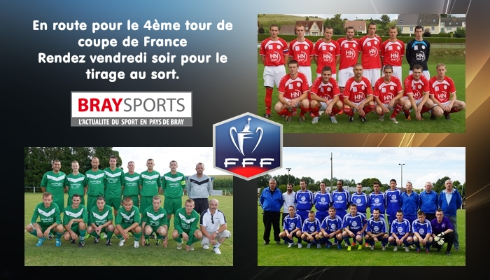 Tirage 4 me tour coupe de france braysports - Tirage eme tour coupe de france ...
