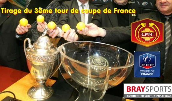 Tirage 3 me tour coupe de france braysports - Tirage des 8eme de finale de la coupe de france ...