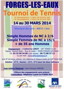 TOURNOI DE TENNIS DE FORGES LES EAUX BRAYSPORTS