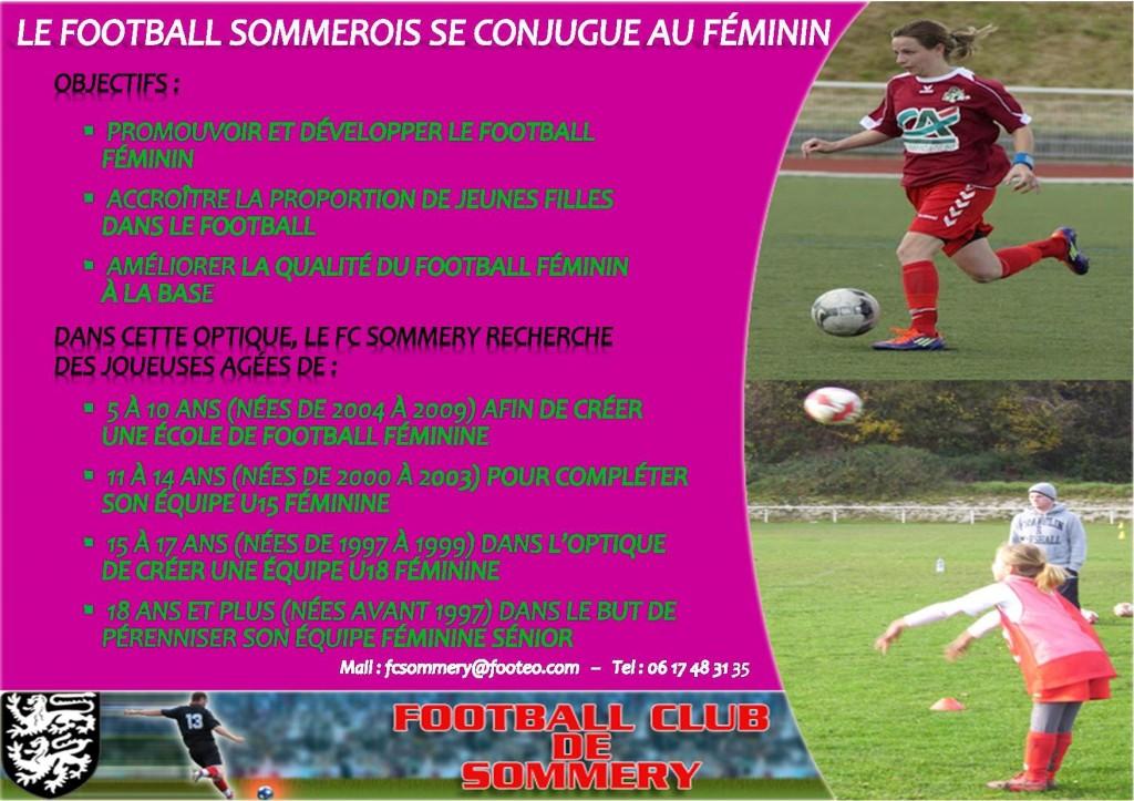 Plaquette feminines 2014-2015