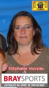 stéphanie Moreau présidente es aumale judo