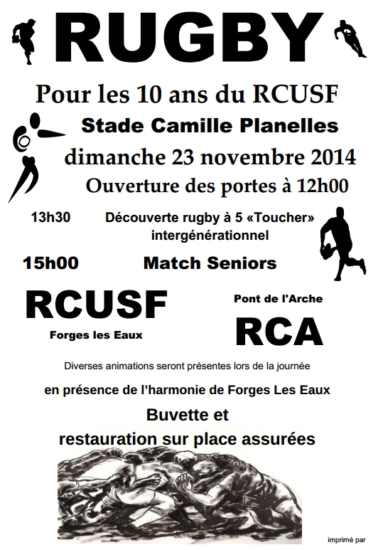 10 ans rcusf