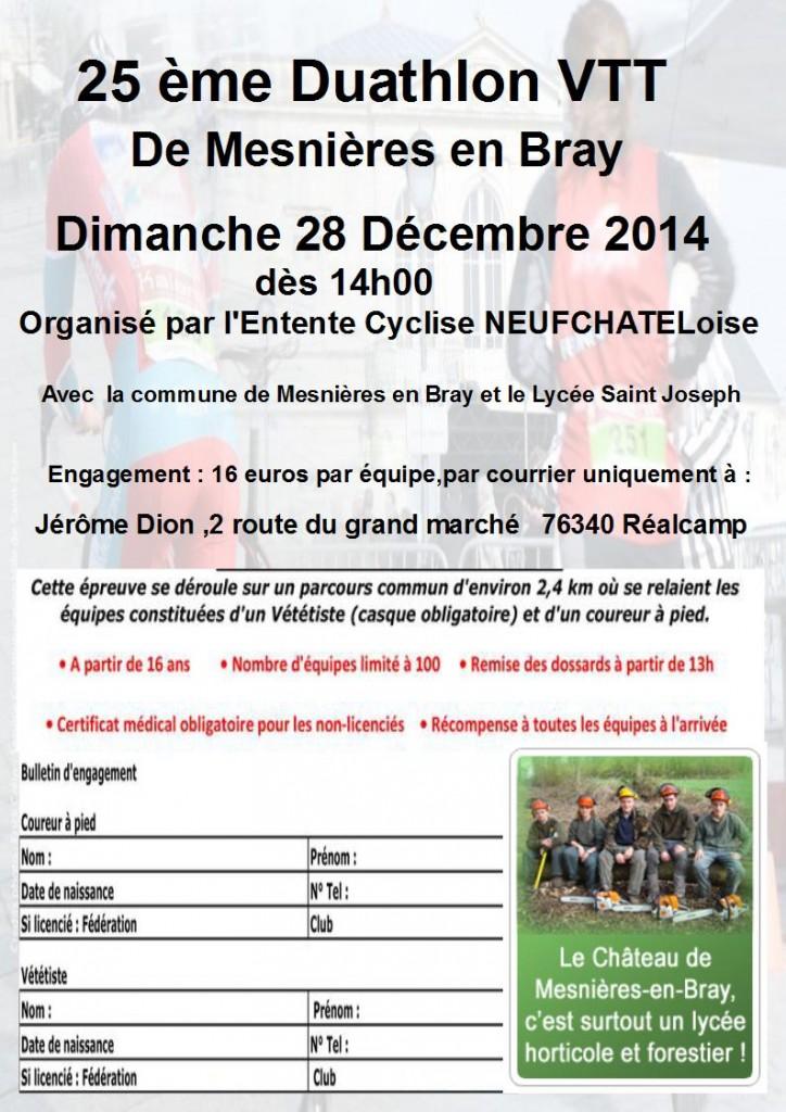 duathlon mesnières 2014 braysports