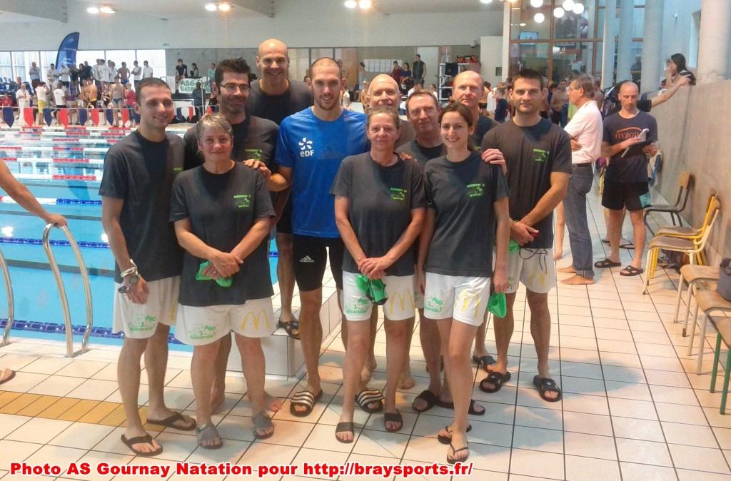 interclubs masters avec Hugues Dubosc Braysports.fr