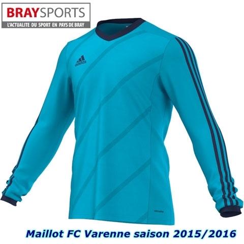 maillot FC Varenne braysports
