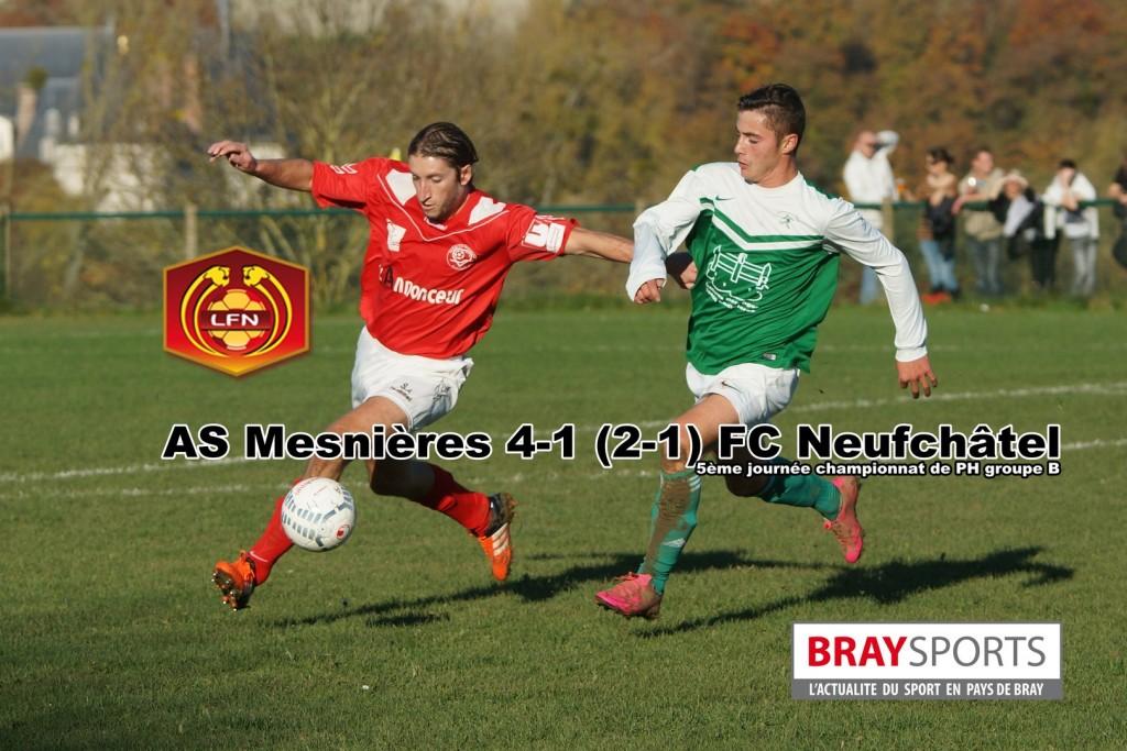 AS MESNIERES-FC NEUFCHATEL   BraySports 861ba3ec57d3