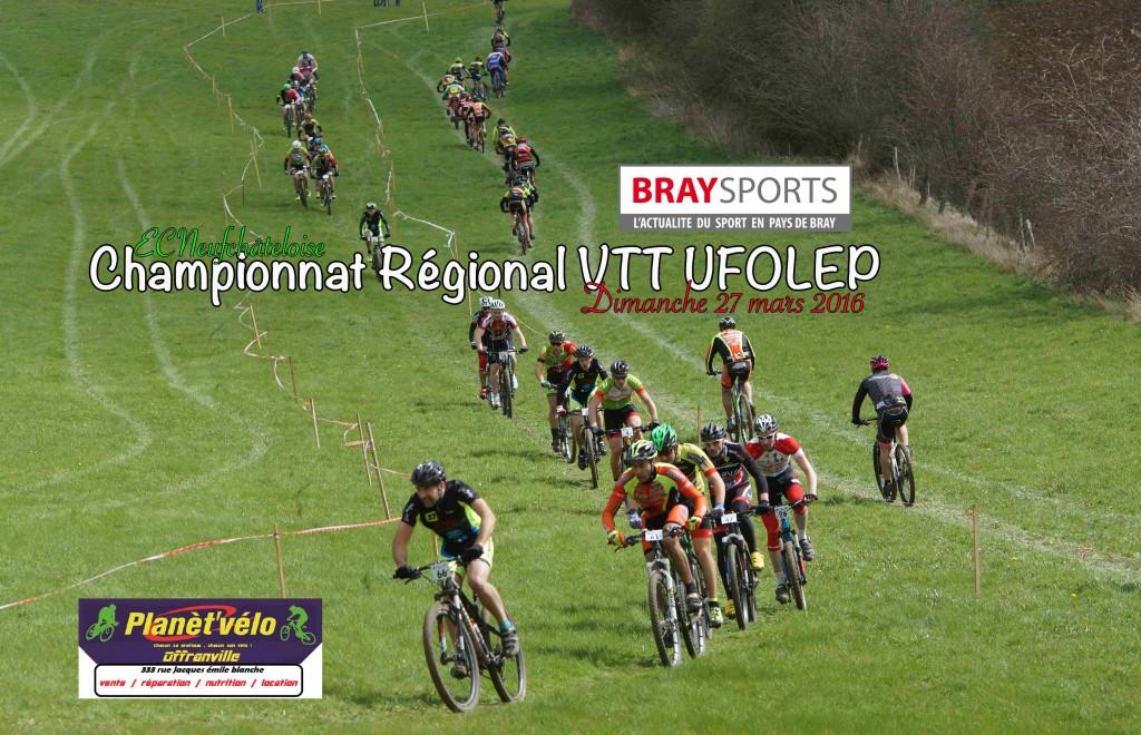 Championnat RégionalVTT UFOLEP 27 mars 2016 - 1