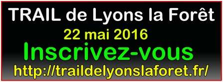 Proposition Trail Lyons la Fôret