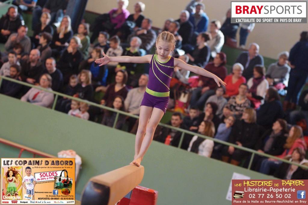 Compétition de Gymnastique Neufchâtel en Bray 5 mars 2016