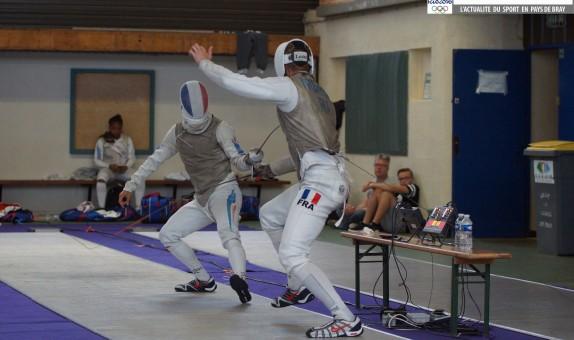 Equipe de France escrime préparation JO rio à Forges 25 juillet 2016