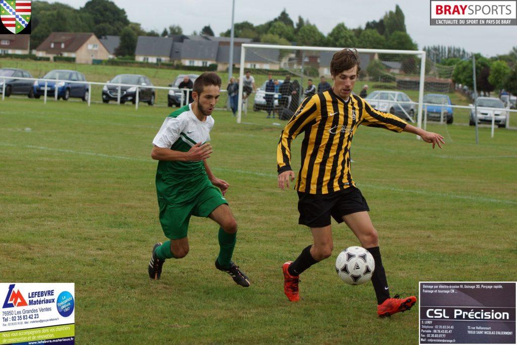 FC Ventois-JS Saint Nicolas d'A 2ème tour coupe de France 4 septembre 2016