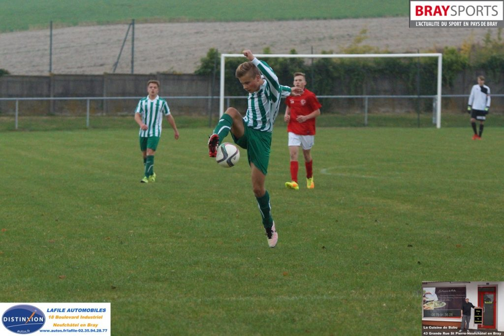 FCN ASB U17 COUPE NDIE 9 OCTOBRE 2016