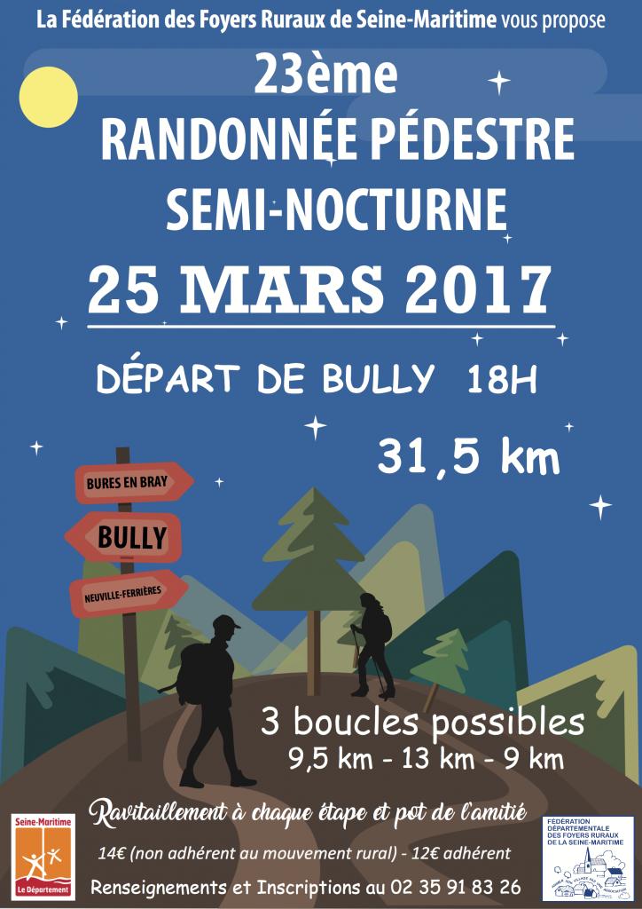 RANDONNEE SEMI-NOCTURNE