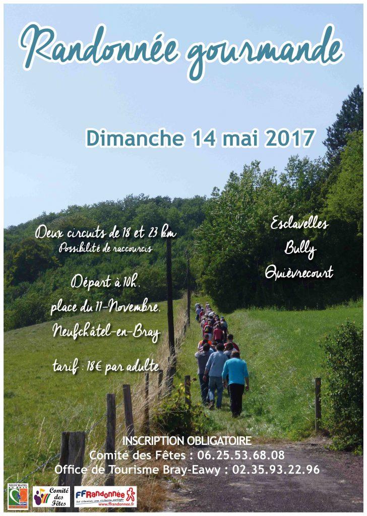 RANDONNEE GOURMANDE 2017