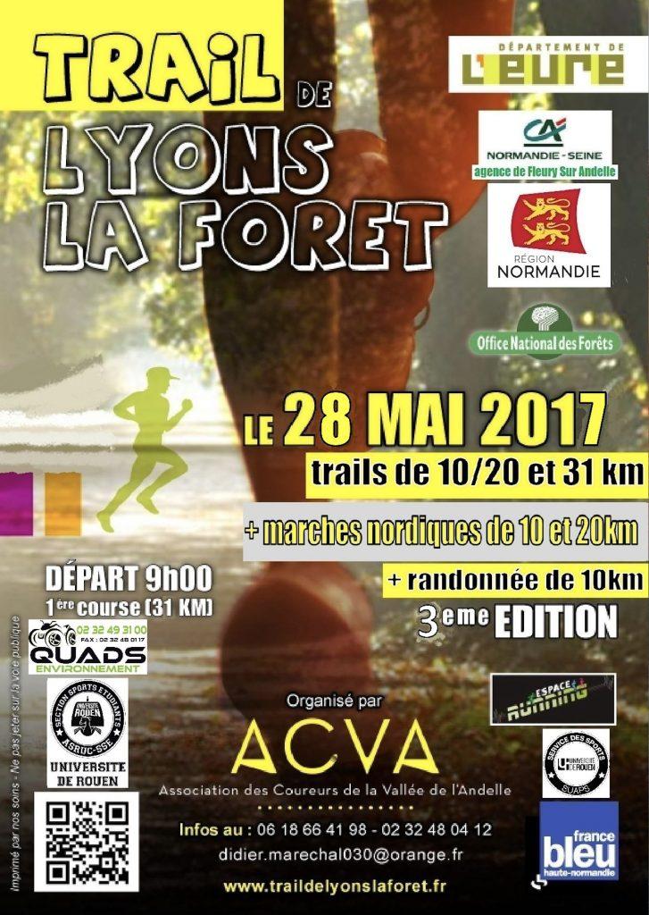 TRAIL LYONS LA FORET