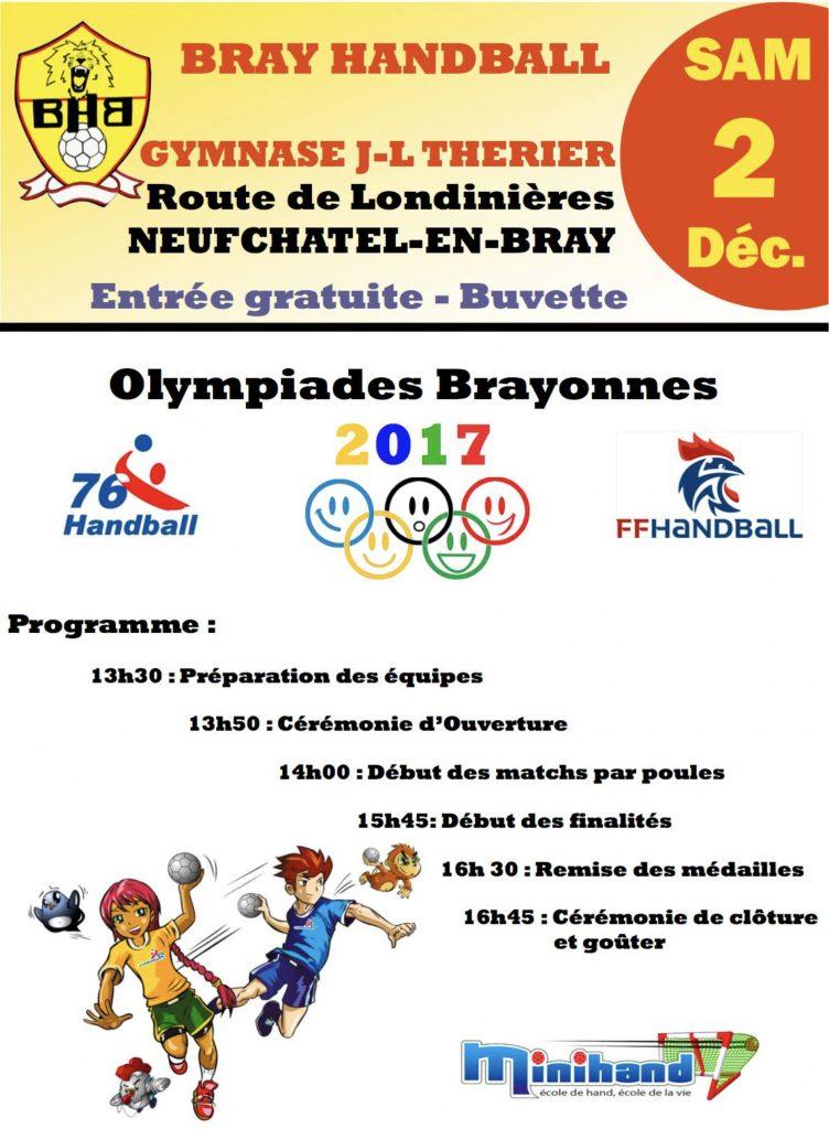 OLYMPIADES BRAYONNES