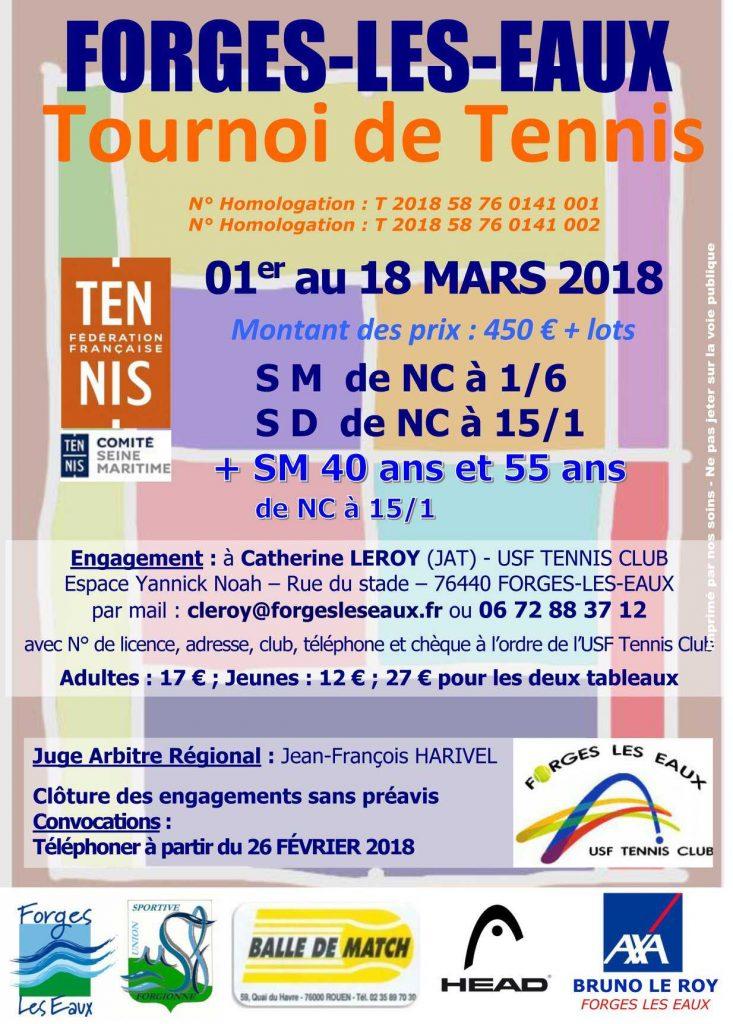 TOURNOI TENNIS FORGES