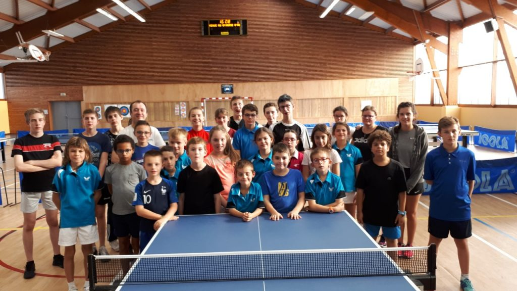 STAGE TENNIS DE TABLE   BraySports 8182f03ee2a2