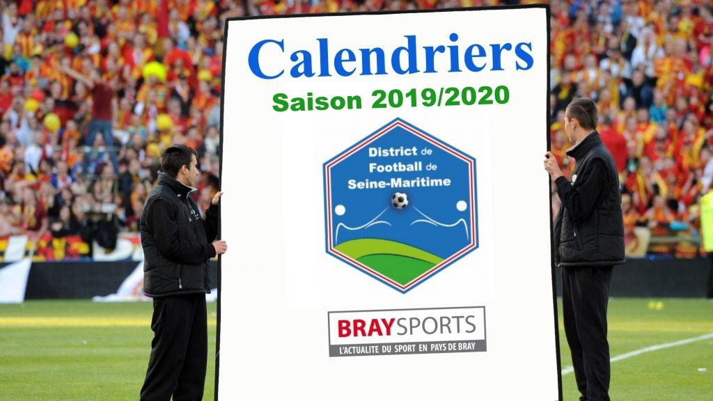 Qrm Calendrier.Calendriers District 2019 2020 Braysports